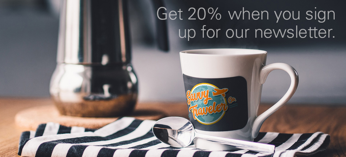 Savvy Traveler Co. 20% Discount Coffee Mug picture