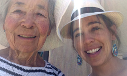Savvy Traveler Co. Alaina and Grandmother picture