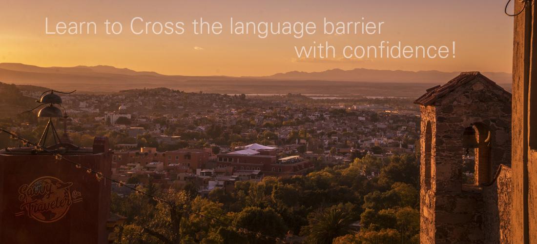 Savvy Traveler Co. Spanish town at sunset pic
